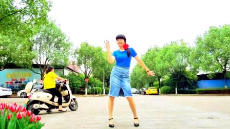 麦芽广场舞基础步舞蹈断情散视频