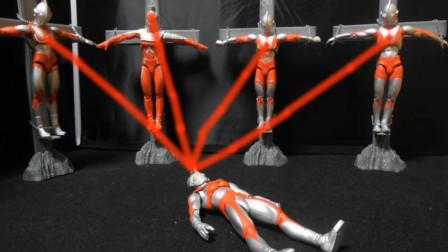 奥特四兄弟把能量给了五弟,帮他击败了艾斯杀手