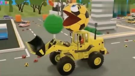 吃豆人游戏:不打不成相与的吃豆人和猫头鹰女惺惺相惜!