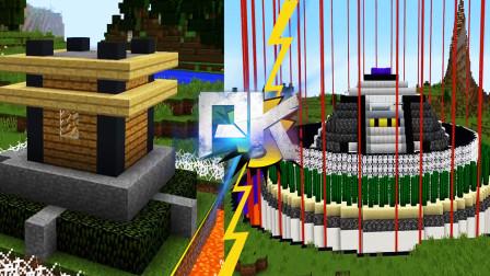 我的世界:高手VS萌新!这是超级堡垒?里面是存了价值连城的东西吗?
