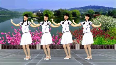 气质美女广场舞《桃花笑》俏皮活泼,跳一跳,忘记烦恼,一身轻松!