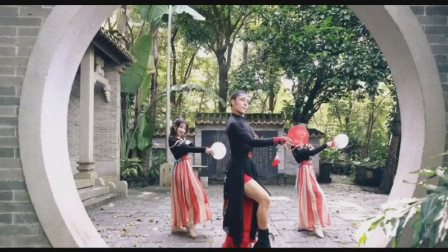 中国风爵士舞《芒种》,他洒下手中牵挂于桥下,前世迟来者擦肩而过
