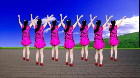 广场舞《中国范儿》节奏欢快动感,简单又好看