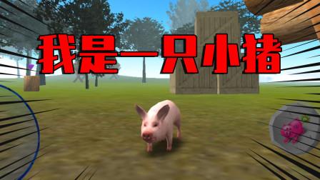 游戏试毒:这只小猪竟和人类谈恋爱?还抢别人的食物!