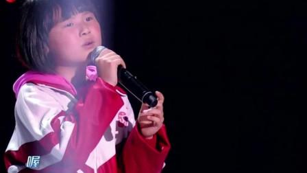 6岁小姑娘可以做歌手了!挑战韩红飙高音献唱《天亮了》,比原唱还走心