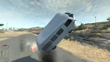 """车祸模拟器:驾驶巴士客车撞击炸弹,这""""生命力""""有点顽强啊!"""