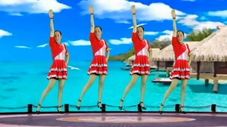 俏皮可爱广场舞《小冤家》活力32步 大人小孩都喜欢