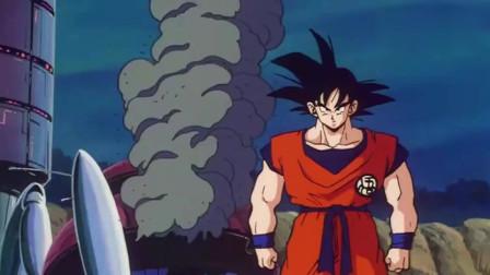 龙珠:悟空看到倒下的比克和悟饭,生气的二分钟结束了战斗 !