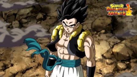 龙珠英雄17集,众人合力也不是黄金哈兹的对手,悟吉塔登场