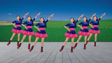 无基础32步广场舞教学我和草原一起来唱歌 手把手教你跳