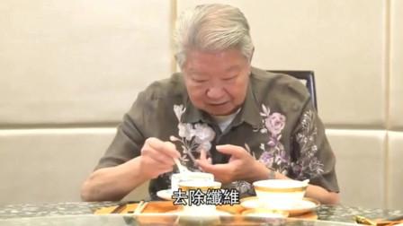 蔡澜品尝四川名菜,看一眼就知道做法,真不愧是吃货专家!