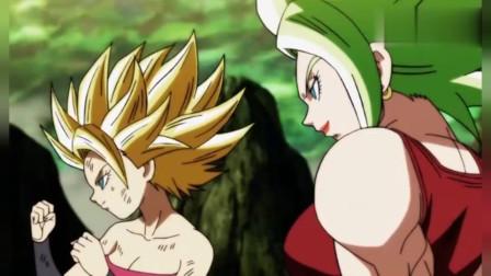 龙珠:卡莉芙拉和开尔让悟空不得不变成超赛神迎战