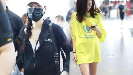 张柏芝机场偶遇王菲女儿,李嫣脱口而出的称呼,暴露真实品行!