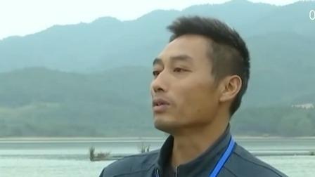 江西新餘:仙女湖水位下降 明代萬年橋浮出水面