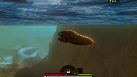 海底大猎杀:可以隐形的绿海鳗 二十六级就打赢了抹香鲸!