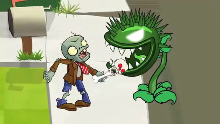 植物大战僵尸:仙人掌救了大嘴花