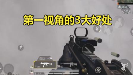 和平精英:揭秘外国玩家,为何只用第1人称视角,原来有这3大好处