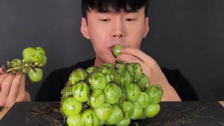 大胃王:大胃王吃播,美食吃货,葡萄