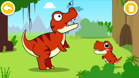 游戏动画:妙妙捡到一个奇趣蛋穿越到恐龙世界,来看看吧。