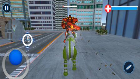 变形机器人英雄,大象机器人不仅要消灭反派,还负责拆迁 走走云游戏解说
