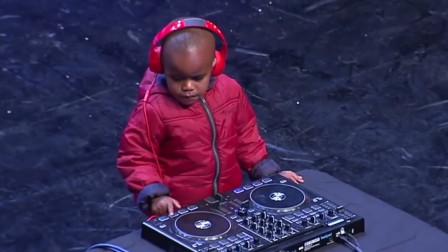 达人秀:3岁神童现场打碟,掌控全局,下一秒全场沸腾!