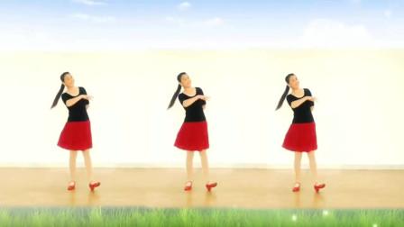 云裳广场舞《酒醉的蝴蝶》云裳老师原创零基础大众健身舞 枫叶红个人版