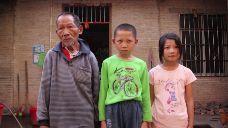 75岁老人捡了个老婆回来,生了2个漂亮的孩子,女儿没钱用就会哭
