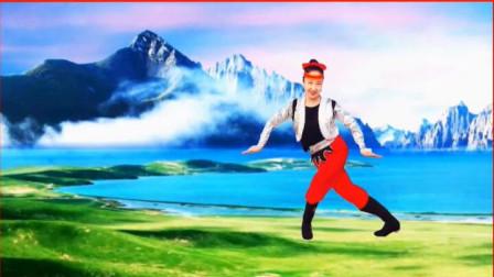 锦瑟舞语 蒙古舞《鸿雁归来的地方》编舞:芳华岁月萃 民族舞