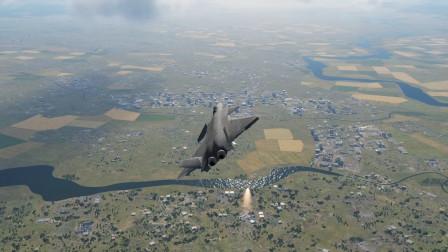 一架歼20对战66架F22的攻击,结果如何?战争模拟
