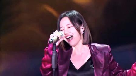 张靓颖因婚姻失败,悲痛中唱了这首歌,如今成了千古绝唱