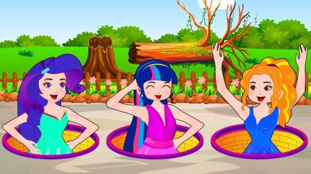紫悦偷走了艾达琪的礼服,艾达琪会发现吗?小马国女孩游戏