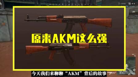 吃鸡小讲堂:AKM背后的故事,它比AK47还强,刚枪玩家的首选!