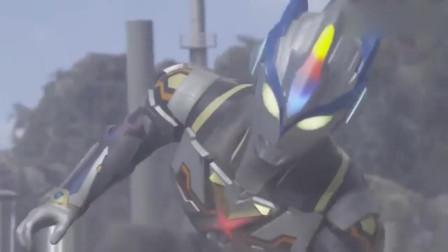 """奥特曼:奥特英雄:艾克斯濒临死亡时""""爆发"""",使用""""艾克斯头标""""!"""