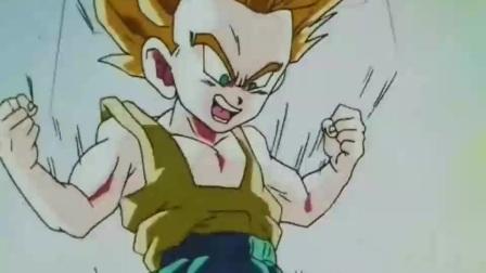 七龙珠:贝吉塔为了训练儿子,竟然一拳打了过去!