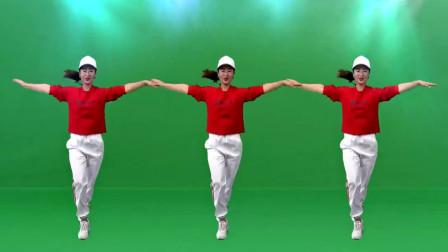 点击观看《舞之美广场舞《酒醉的蝴蝶》零基础简单易学入门曳步舞》