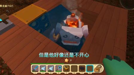 迷你世界:熔岩巨人跟骷髅射手这俩人真够义气的,双方都互相帮忙