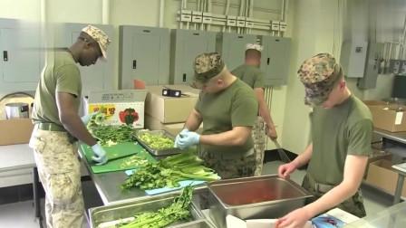 老外在中国:看了美国海军陆战队的食堂伙食,你会爱死中国餐厅美食