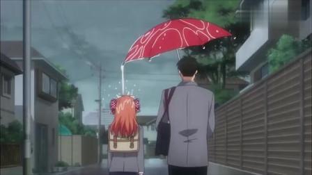 直男都是这样打伞的,钢铁直男