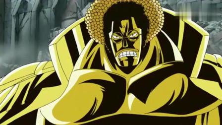 海贼王:顶上战争,黑胡子太得意忘形了,卡普教他做人