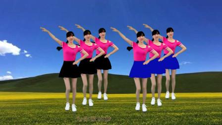 点击观看《阳光香果广场舞《唐古拉DJ》节奏欢快,好看又好学!》