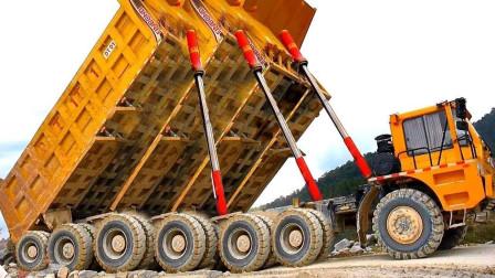 """印度司机的""""逆天操作"""",一次运输30吨沙子,在悬崖边上卸货!"""