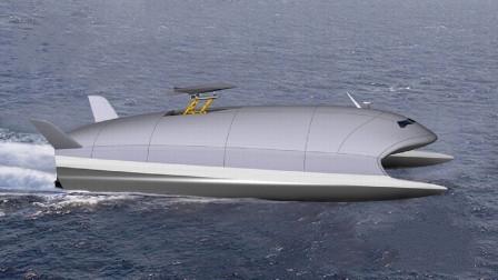 脑洞大开!地效穿浪航母时速222公里,或将改变海战规则