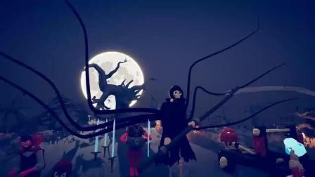 万圣节兵种!蜘蛛死神VS100万个雷神!全面战争模拟器!