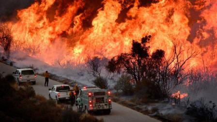 """加州爆发183场大火,20万人""""无家可归"""",关键时刻,坏消息传来"""