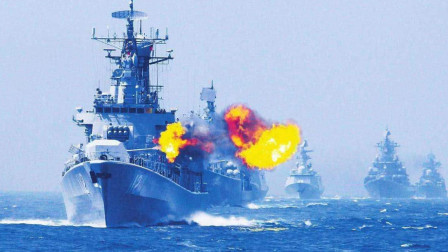 56国率大军硬闯海峡,距离海岸仅数十海里,多国商船禁止通行