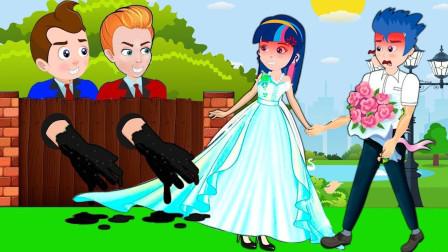 紫悦和阿坤被电梯带到了天上 小马国女孩游戏