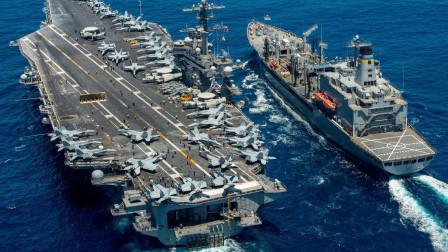 仅靠12艘航母,美国就能打赢任何国家?美中将和上将给出答案