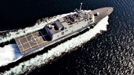 沙特海军新舰开工!排水量3500吨却比055还贵,美国赚翻