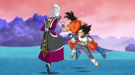 龙珠英雄:维斯实力终于显现,有超强的速度和反应,悟空贝吉塔被戏耍