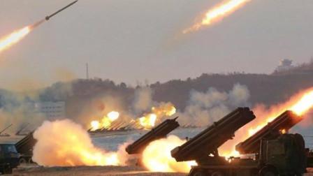 万炮齐射,打败美军?看看美军如何,大屠杀地面炮兵群